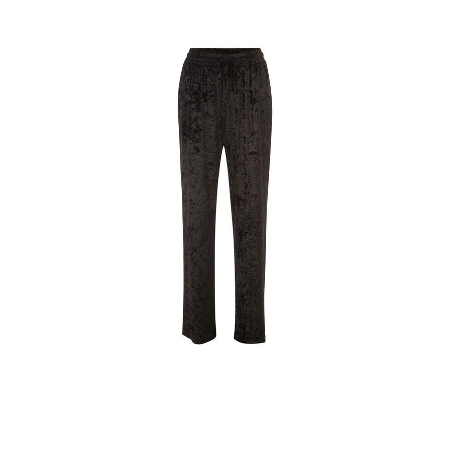 Pantalon noir refimiz;
