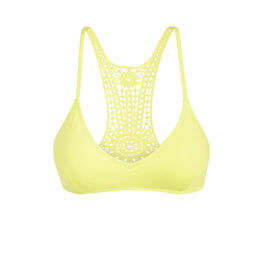 Haut de maillot de bain jaune cookiz yellow.