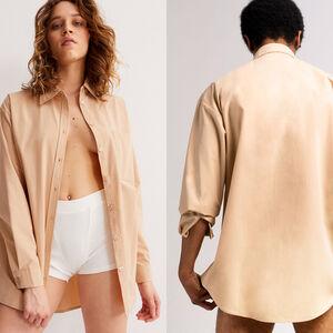 chemise unisexe - beige
