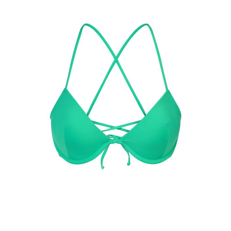 Haut de maillot de bain vert alohiz;
