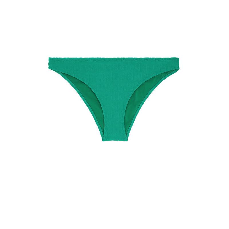 Bas de maillot de bain vert émeraude epongiz splashiz;