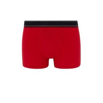Boxer coton message katchiz petitmectiz rouge.