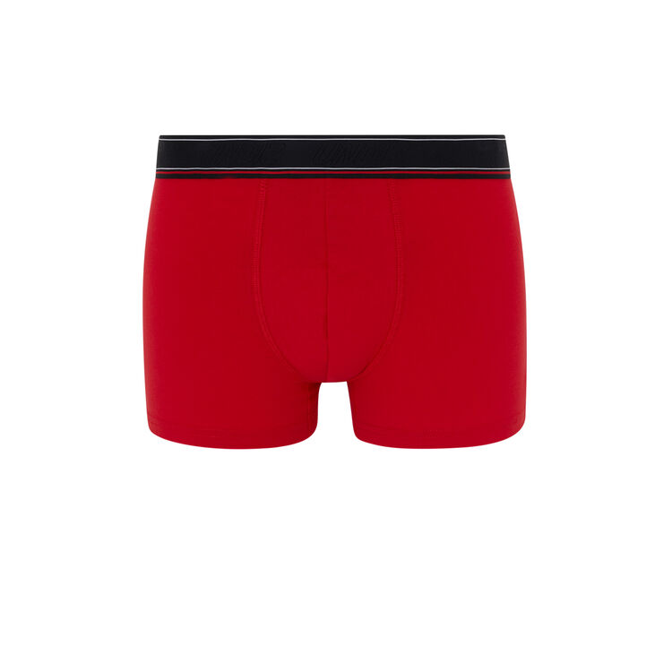 Boxer coton message katchiz petitmectiz rouge.