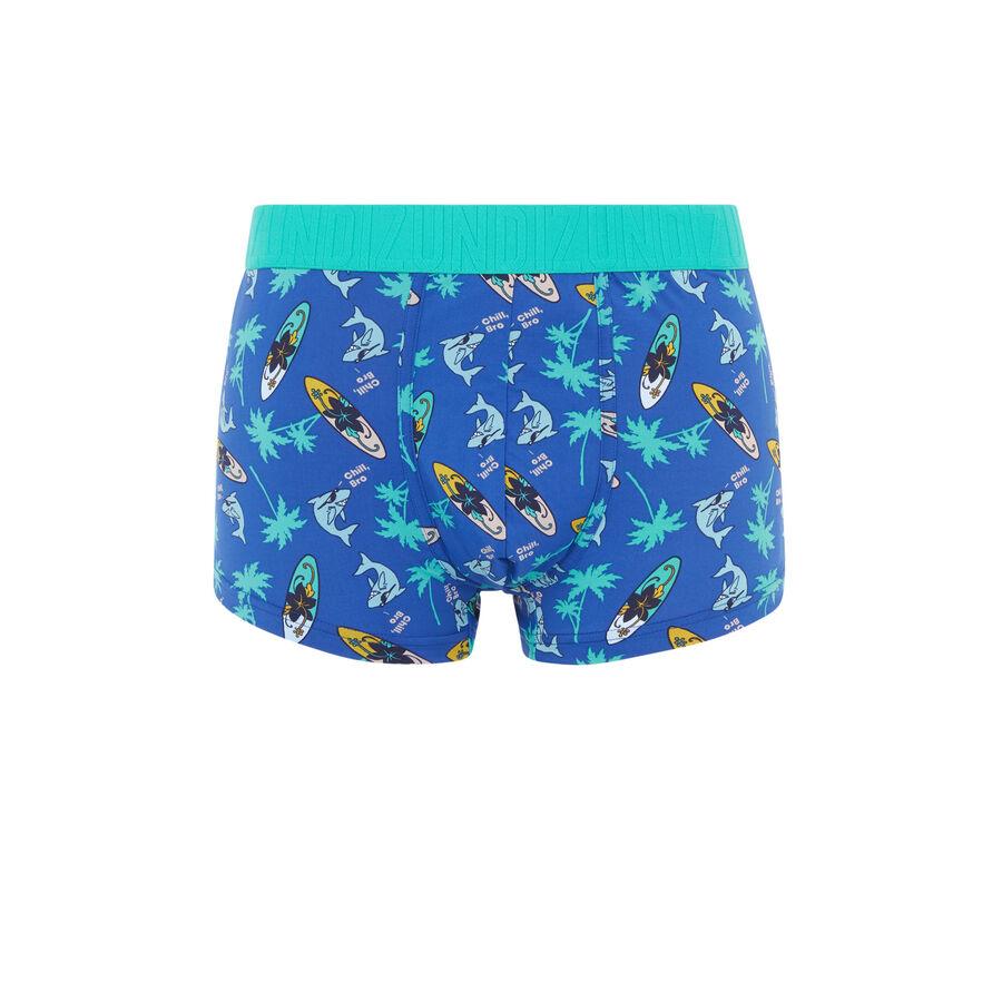 Boxer bleu chillbroiz;