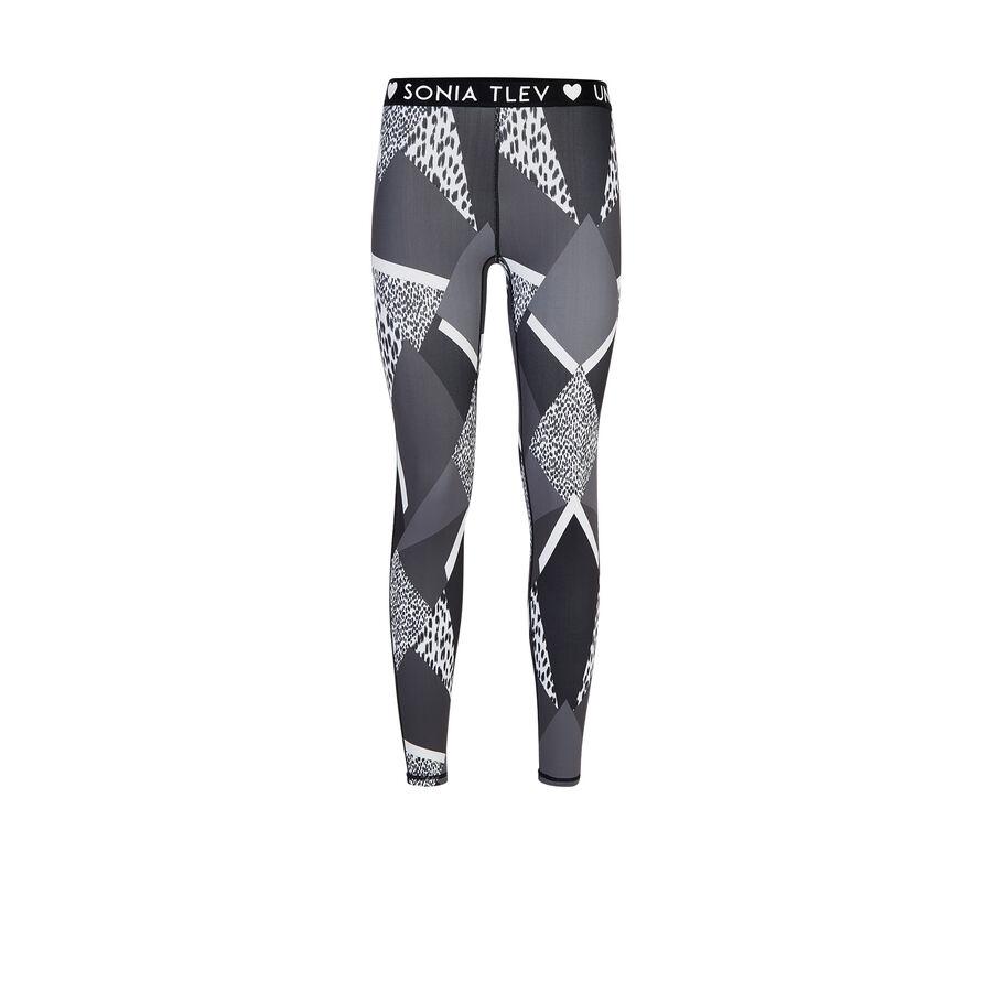 Patchiz black athletic leggings;${refinementColor}