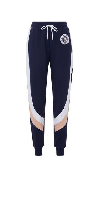 Pantalon jogging colorpantiz bleu marine.