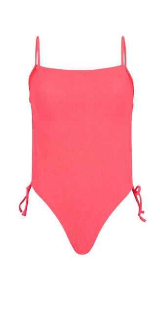 Maillot de bain une pièce rose fluo sikiniz pink.