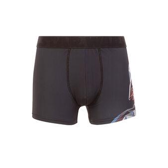 Darkvadi black boxer shorts black.