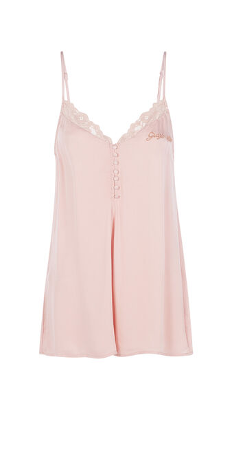 Combinaison rose pâle romiciz pink.