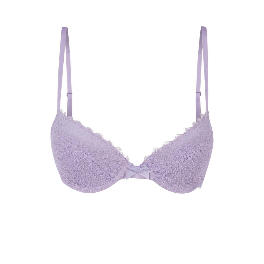 Soutien-gorge violet clair basiciz;