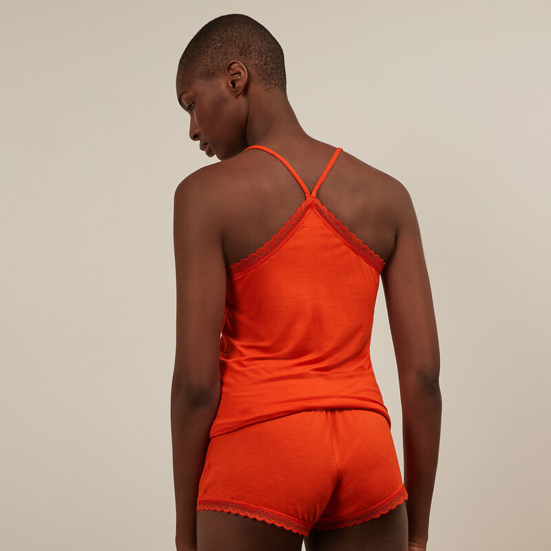 short en jersey - orange;