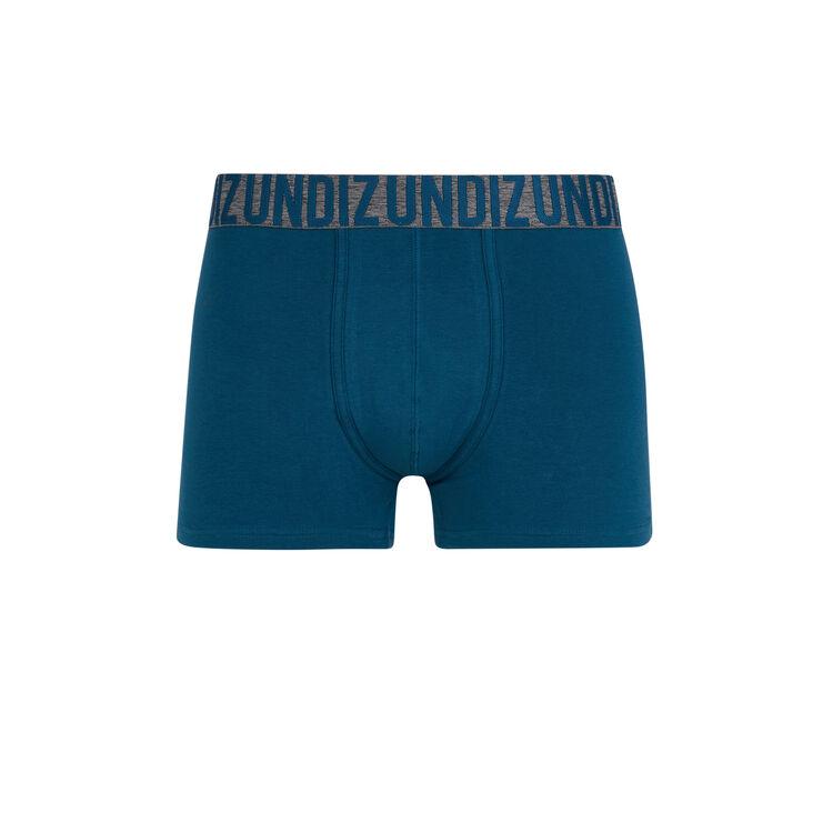 Boxer bleu canard oreliz blue.