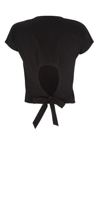 Top noir mangatiz  black.