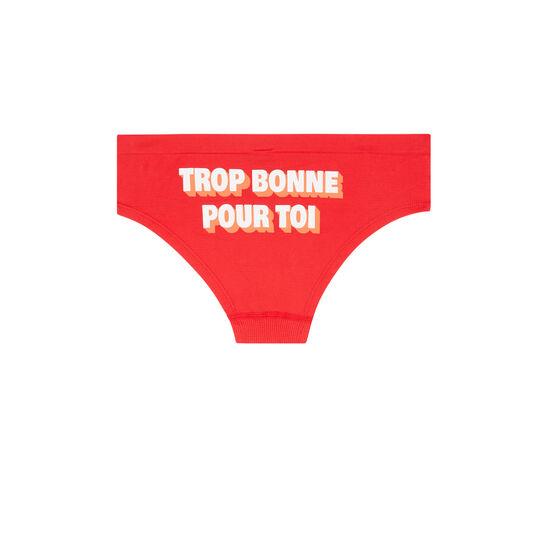 Shorty rouge trobonniz;