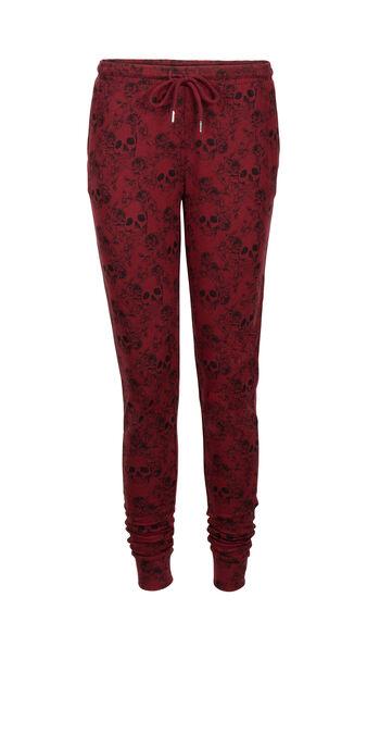 Pantalon bordeaux caveriz red.