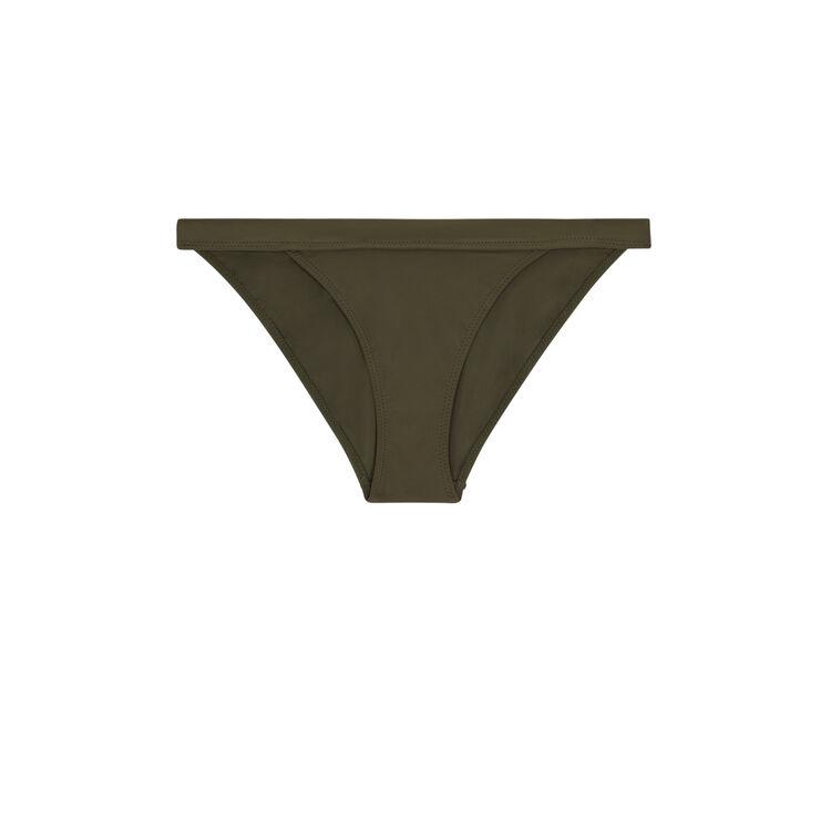 Bas de maillot de bain slip kaki sahariz green.