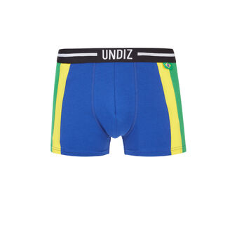 Boxer bleu jaune vert brasiliz  blue.