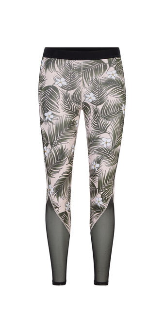 Legging tropical tropikiz black.