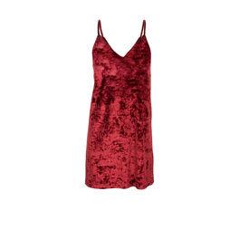 Veslipiz burgundy dress red.
