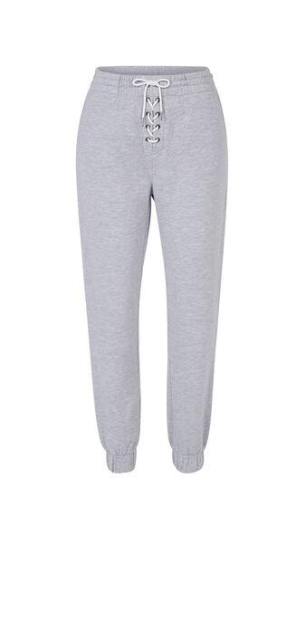 Pantalon gris delaciz grey.