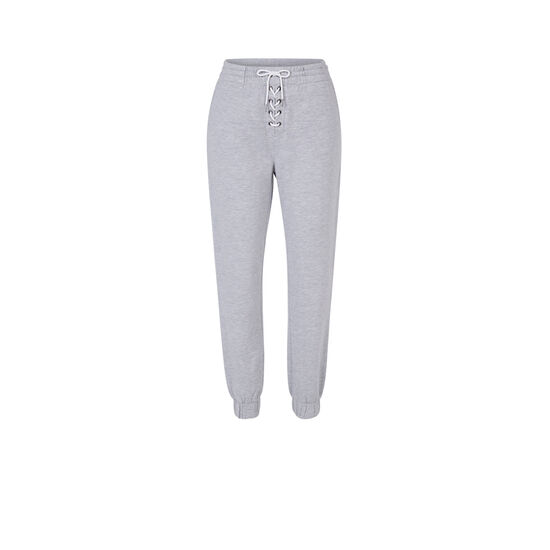 Pantalon gris delaciz;