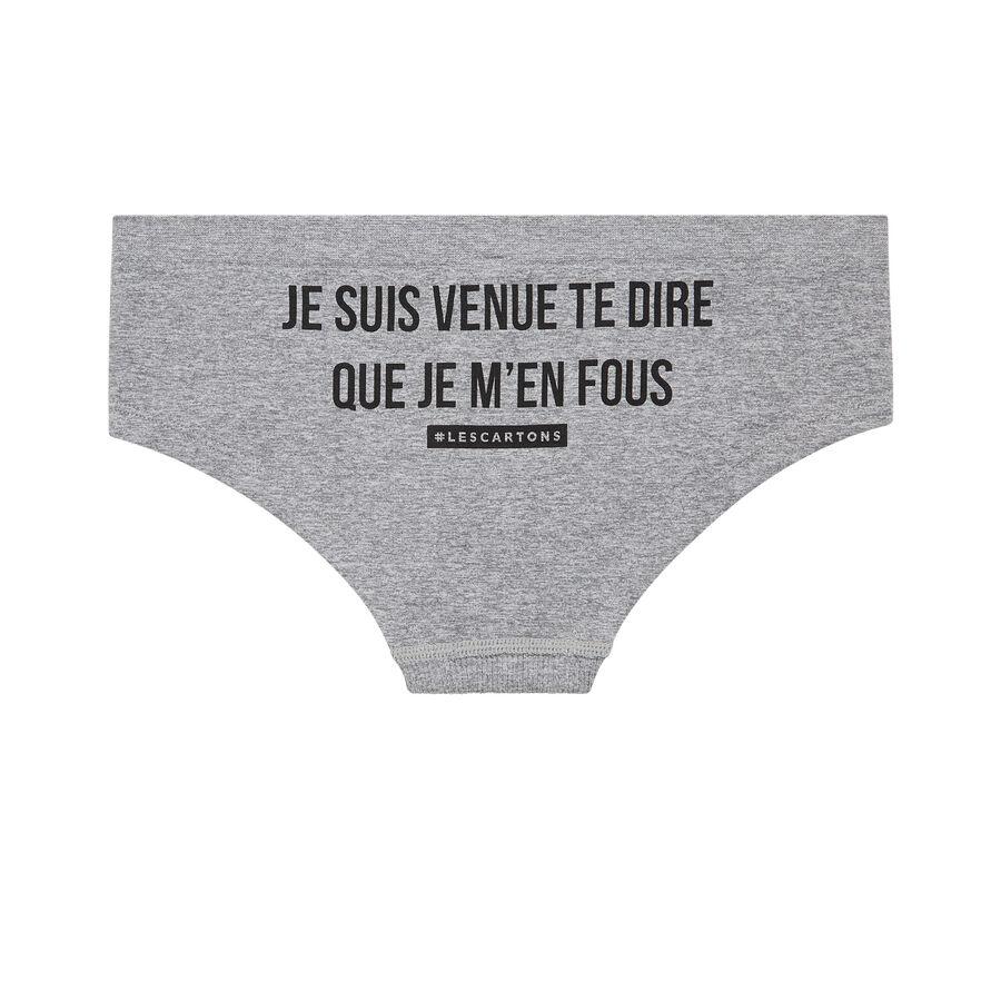 Foutiz grey underwear;${refinementColor}