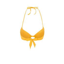 Haut de maillot de bain push-up jaune gabiz yellow.
