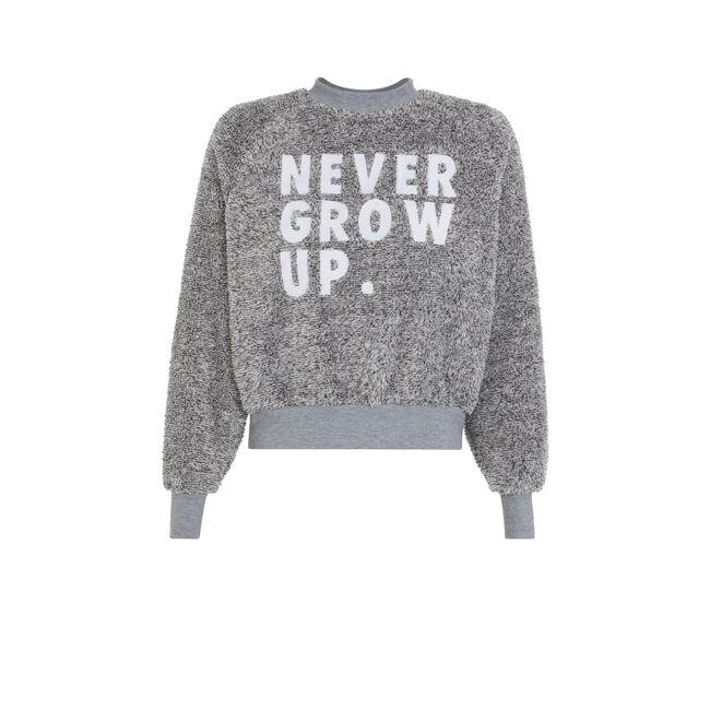 Sweat gris nevergrowiz;