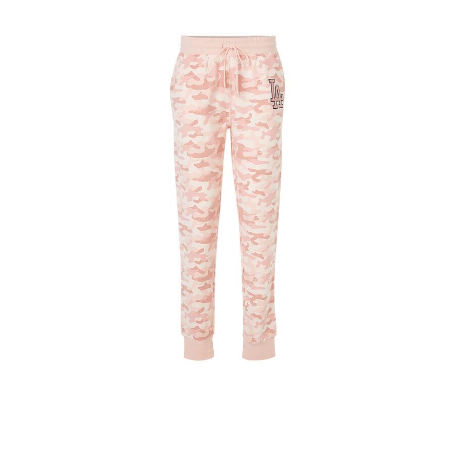 Laliz light pink trousers;${refinementColor}