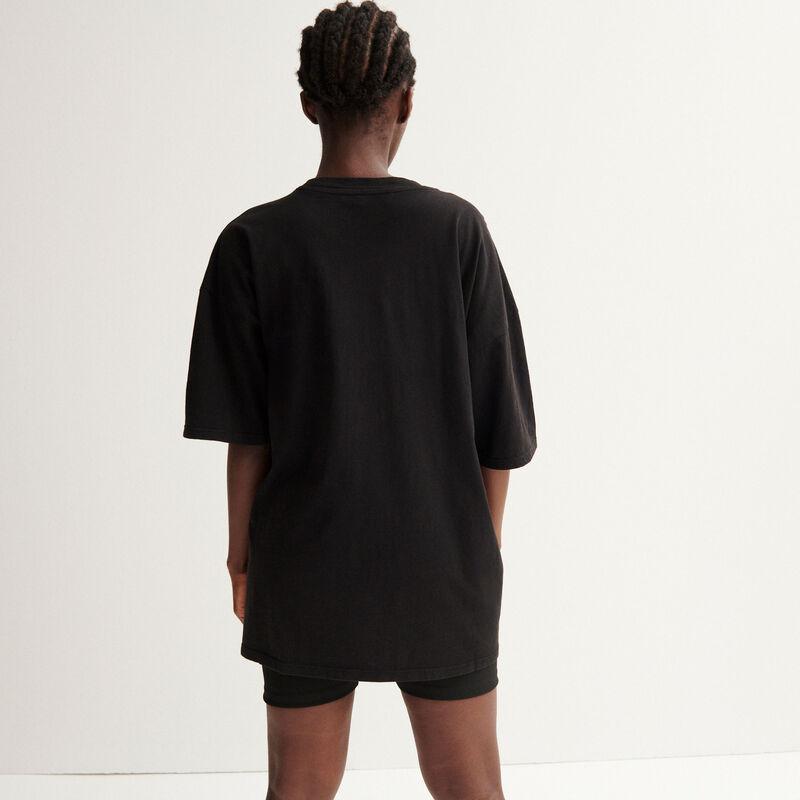 top oversize Aya x undiz - noir;