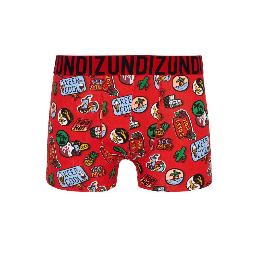 Surfbadgiz coral boxer shorts;${refinementColor}