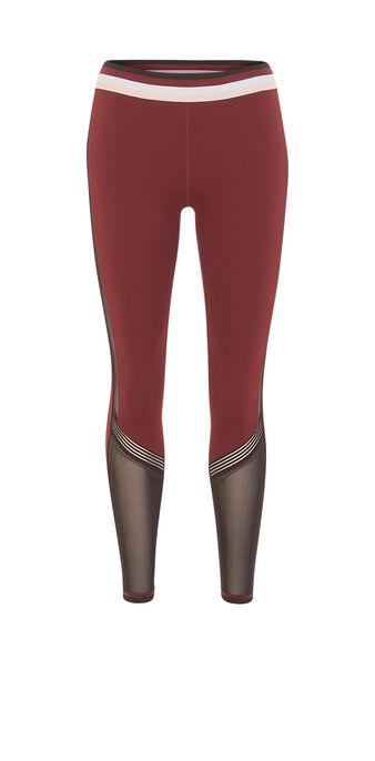 Ringiz burgundy leggings red.