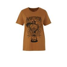 Top marron doré alohomoraiz golden brown.