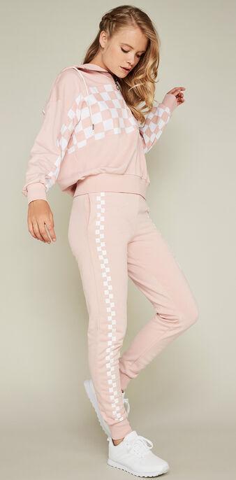 Jogging rose pâle adreliniz pink.