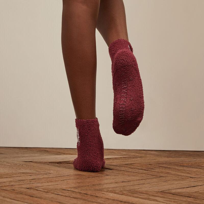 chaussettes Gryffondor - bordeaux;