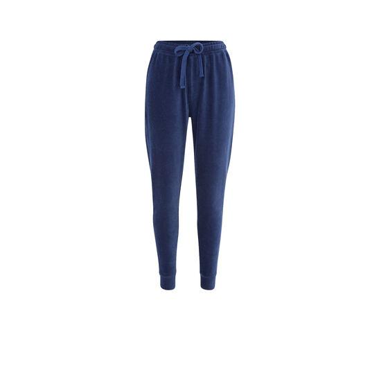 Jogging bleu largecrochiz;