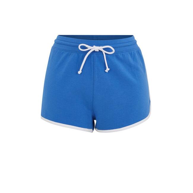 Short bleu rayloosiz;