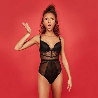 New venusiz black bodysuit black.