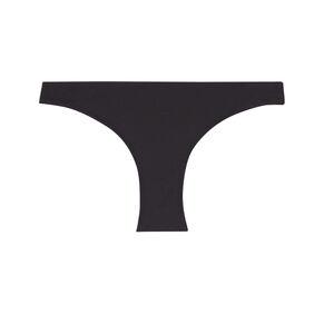 bas de maillot  culotte unie - noir