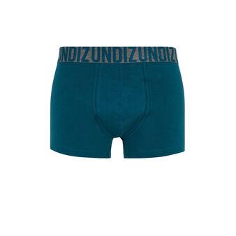 Boxer bleu canard oreliz bleu.