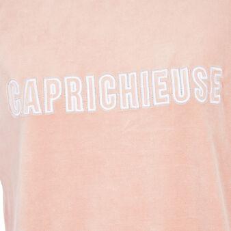 Caprichiz light pink sweatshirt pink.