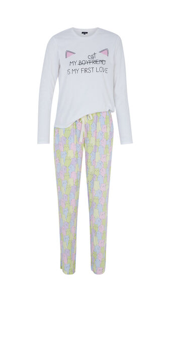 Ensemble de pyjama blanc coraziz spain white.