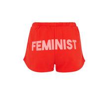 Short rouge feminiziz red.