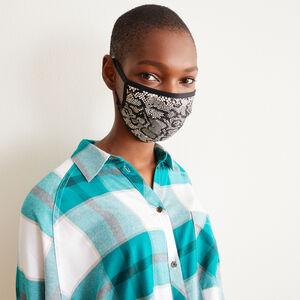 lot 3 masques noir/serpent - noir