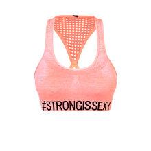 Becomiz pink sports bra pink.