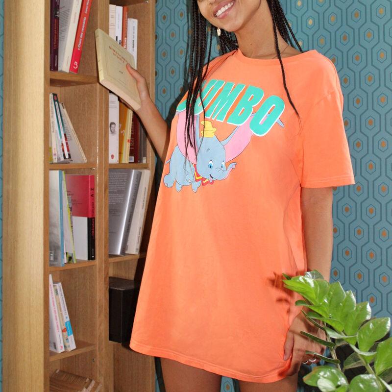 Tunique à manches courtes Dumbo - orange;
