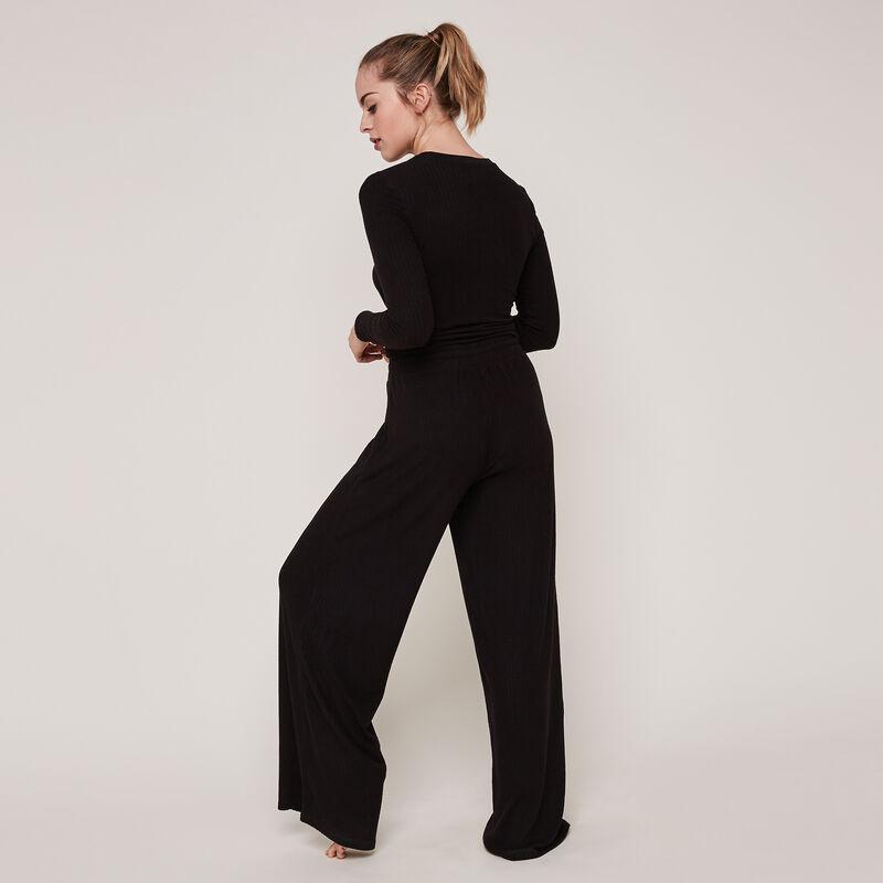 pantalon large uni newflaridiz;