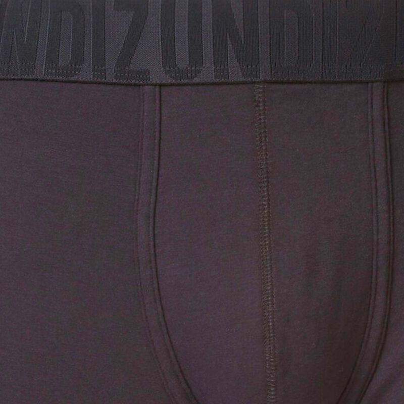 boxer uni en coton - noir;