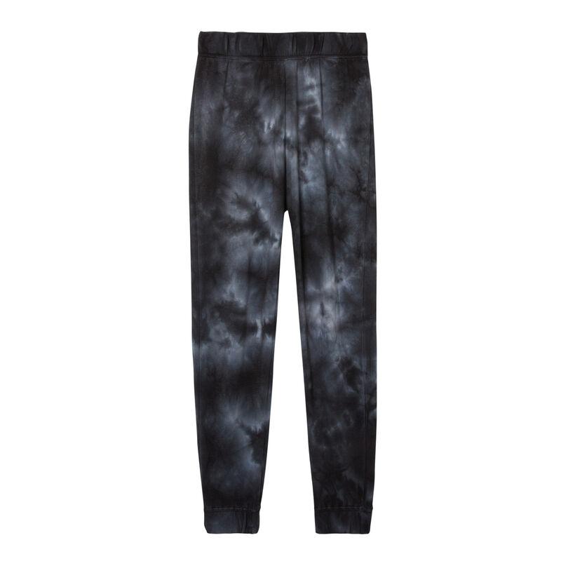 jogging imprimé smoke - noir;