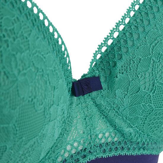 Soutien-gorge vert turquoise revoltiz;